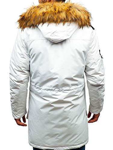 Z7qnd4b Blanc Homme 201812 Veste D'hiver Blouson Capuche Bolf 4d4 Hiver IHYED92eW