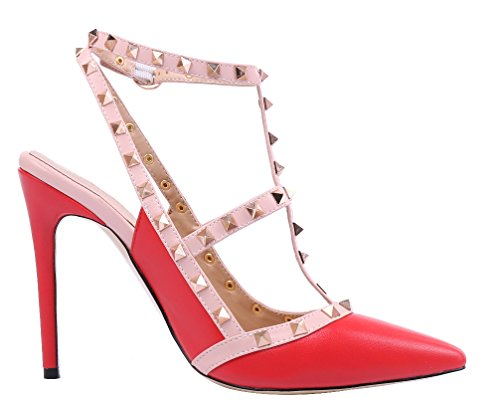 Rot Pu para vestir 2015 de Zapatos mujer MONICOCO xwS0YfqpaW