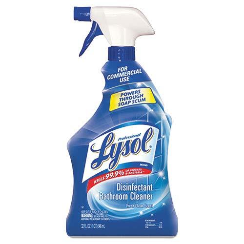 Disinfectant Basin Tub - Professional LYSOL 04685EA Pro Basin/Tub/Tile Cleaner, 32oz Spray Bottle
