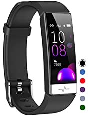 Mgaolo Fitness Tracker with Blood Oxygen SpO2 Blood Pressure Heart Rate Sleep Monitor for Men Women,Waterproof Activity Tracker with HRV,Health Pedometer Smart Watch Compatible Android iPhone