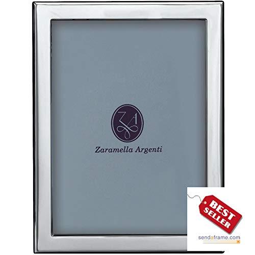 LONDON - an engraving favorite - in pure Italian Sterling Silver by Zaramella Argenti® - 5x7
