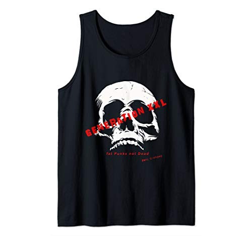 Punk Grandad generation XXL Punk Rock Designs Tank Top