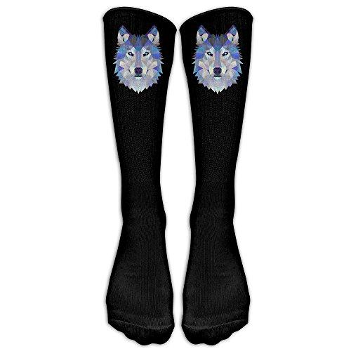 Unisex Wild Cool Wolf Athletic Socks Stockings Tube ()