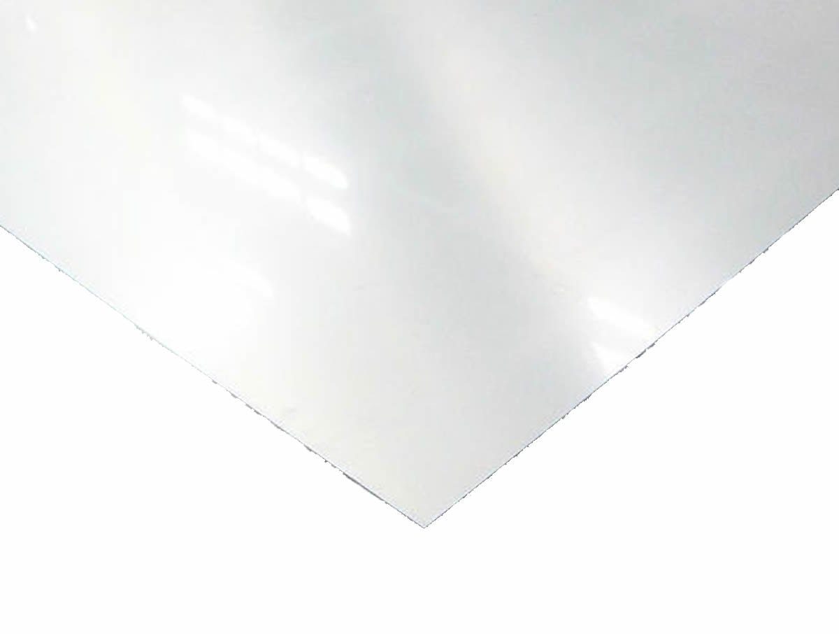 """14 Gauge Stainless Steel #4 Brushed 304 Sheet Plate 12/"""" x 12/"""""""