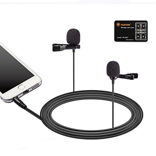 میکروفون کابل BOYA LM400 میکروفون 4M با قابلیت پخش 4M با اندروید PAD مصاحبه ضبط ویدیو میکروفن همه کاره با میکرو کارت مورد TARION