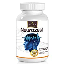 Neurozest - Premium Blend Brain Supplement and Nootropic Vitamin Formula to Support Neuro Plasticity, Boost Healthy Focus and Concentration Levels, Brain Function Enhancement and Alpha Cognitive Peformance Factors. Physician-Formulated To Combat Brain Fog with Optimum Blend Of Phosphatidylserine, DMAE, L-Glutamine 30 Capsule Pills Complex
