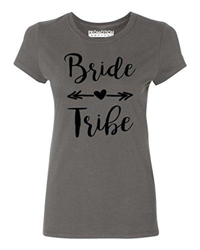 P&B Wedding Bridal Party Gear Bride Tribe Women's T-Shirt, 2XL, -