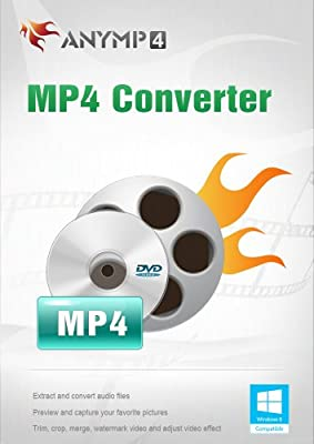 AnyMP4 MP4 Converter Lifetime License - Convert any DVD and popular videos to MP4 video files [Download]