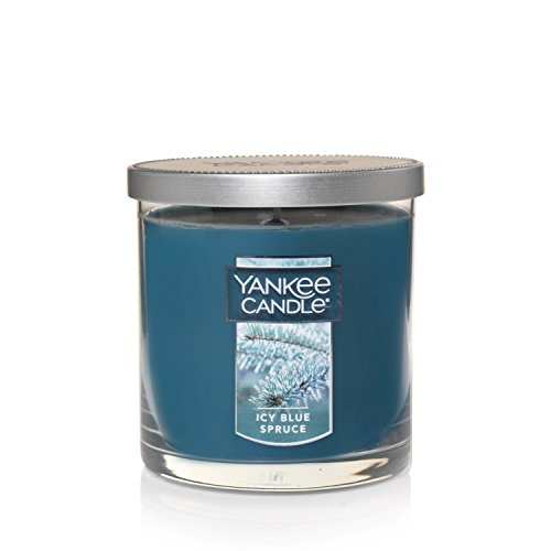 Yankee Candle Scented Candle, Small Tumbler, Icy Blue Spruce ()