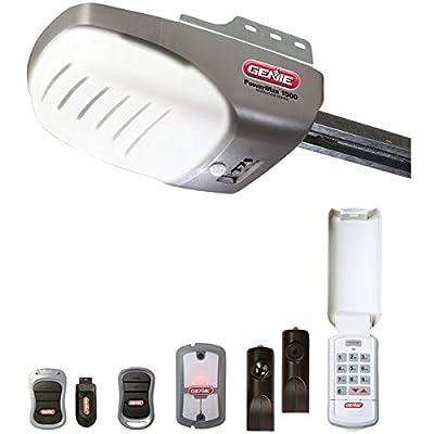 GENIE 37282V Garage Door Opener with 1 HPc DC Screw by GENIE