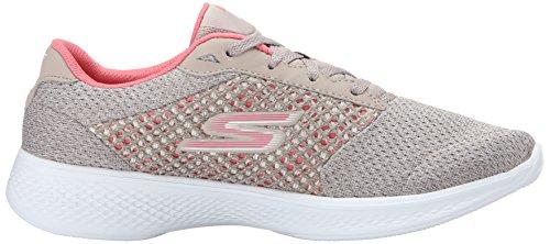 Skechers Gowalk 4-Exceed, Zapatillas para Mujer Beige (Tpcl)