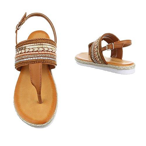 Ital-Design - Zapatos con tacón Mujer marrón claro