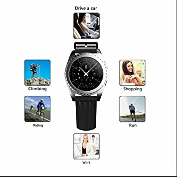 Cámara de control remoto reloj inteligente, Smartwatch con MP3 ...