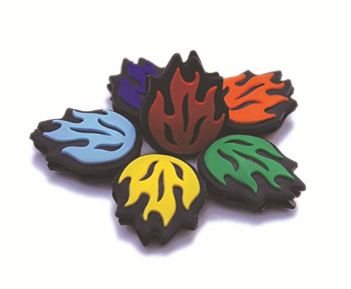 New Tennis Vibration Dampener - DGT Dang Good Tennis - Set of 6 Flames Different Colors-Great Feel- Shock Absorber Best for Tennis Rackets. Get Yours Now to Unleash Your Best Tennis! by DGT Dampeners