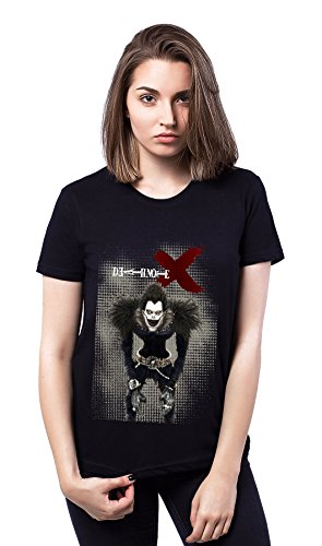 Death Note Cross Black Avatar Damen T-shirt