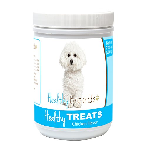 Healthy Soft Chewy Dog Treats for Bichon Frise - Over 80 Breeds - Tasty Flavored Snack - Small Medium or Large Pets - Training Reward - 7oz