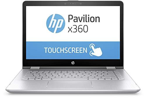 (Renewed) HP 14-ba075TX 2017 14-inch Laptop (Core i3/4GB/1TB/Windows 10 Home/2GB Graphics), Natural Silver