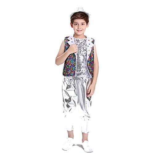 Dance Costumes Hip Hop Dancers - Boys Glitter Dancewear Hip Hop Modern