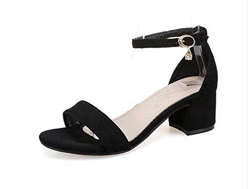 basse BAJIAN Ladies heelsWomen LI Alta Flop estivi scarpe Peep sandali sandali Flip di scarpe toe F1Uqp