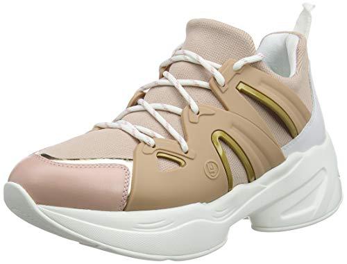 Liu Jo Shoes Women s Jog 07-Sock Sneaker Peach Low-Top bfed7bc4290