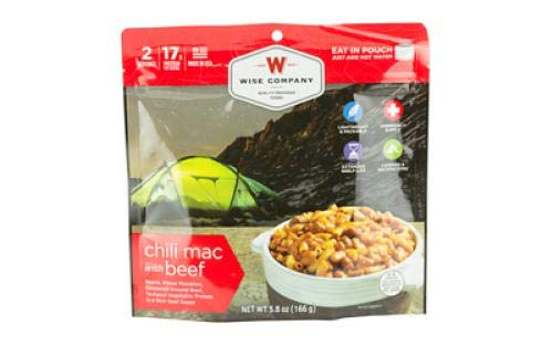 Wise Company Chili Mac with Beef Camping Food (Case of 6)