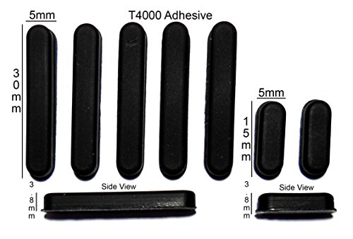 VATH Made Rubber Foot Set for HP zd7000, zd8000 Series LCD Rubber Foot Set [95]