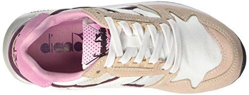 rosa Peonia prugna Nyl I 4000 Diadora Ii c Sneaker Mixte Rose Adulte Basses CvPwnqw