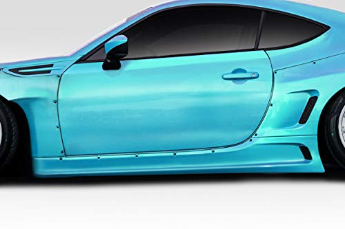 Duraflex Replacement for 2013-2019 Scion FR-S Toyota 86 Subaru BRZ Widebody GT500 V3 Side Skirts - 4 Piece