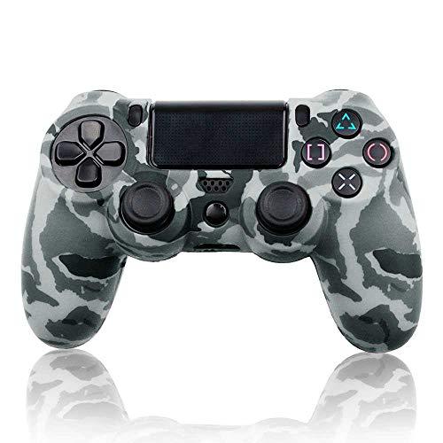 OcioDual Funda de Silicona Carcasa para Mando Sony PS4 PlayStation 4 Slim Pro Dualshock 4 Camuflaje