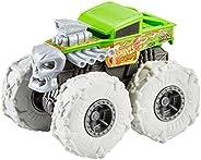 Caminhão Bone Shaker Twisted Tredz Monster Trucks Hot Wheels
