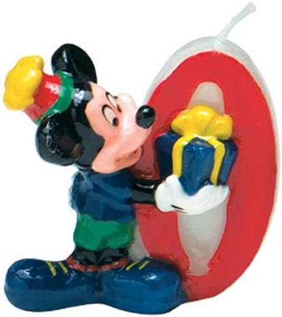 Amazon.com: Disney Mickey Mouse Vela Número 0: Toys & Games