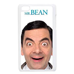 iPod Touch 4 Phone Cases White Mr Bean DTG148007