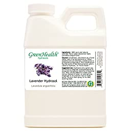 Lavender Hydrosol - 16 fl oz Plastic Jug w/ Cap - 100% pure, distilled from essential oil
