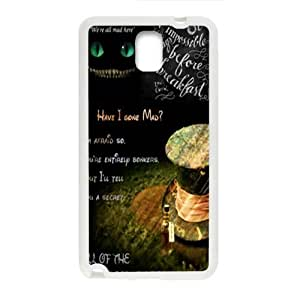 Alice in wonderland Phone Case for Samsung Galaxy Note3 Case