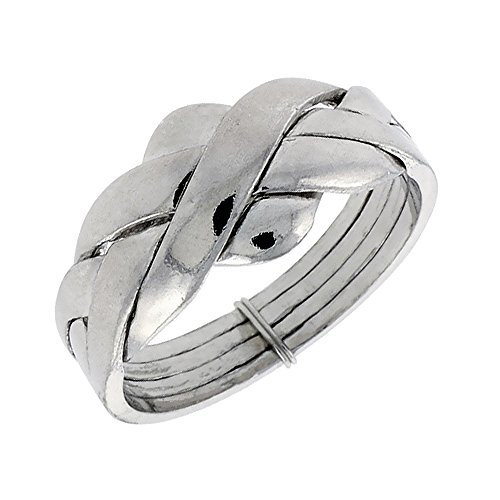 Sterling Silver 4 Piece Puzzle - 2