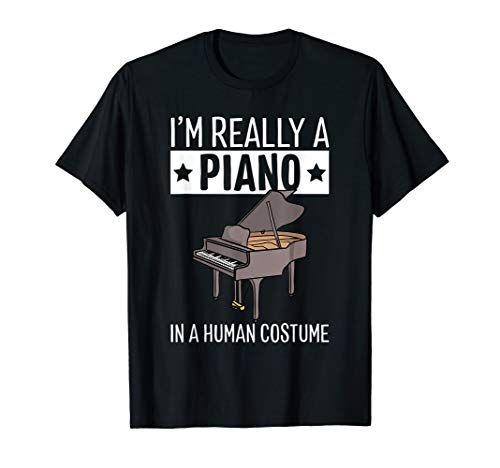 Female Musicians Halloween Costumes (I'm Really A Piano In A Human Costume Halloween Funny Music)