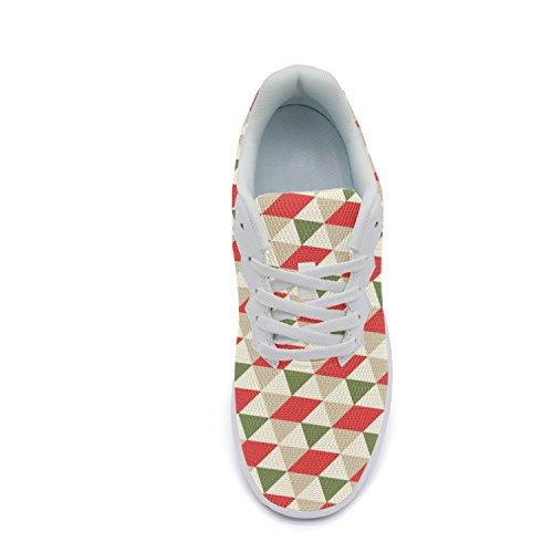 Ddkafjfj Camomilla E Skull Womens Sport Running Sneakers Leggere Traspiranti Scarpe Da Barca Color6