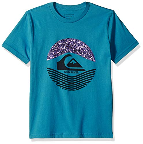 Quiksilver Boys' Big STOMPED ON TEE, Southern Ocean, L/14 (Tshirts Southern Boys)