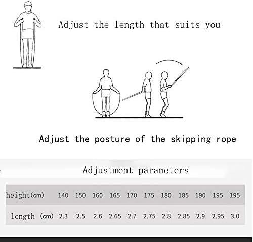ハイグレード 調節可能 スピード縄跳び スピードワイヤロープ 高速ボールベアリング フィットネス 脂肪燃焼練習 ボクシングに最適 シルバー 321-333-334