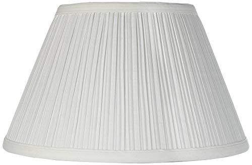 Downbridge Antique White Pleated Shade 6.5x12x7.5 (Uno) - Brentwood (Antique Floor Lamp Shade)