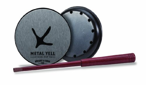 Knight and Hale Metal Yell Aluminum Pot Turkey Call
