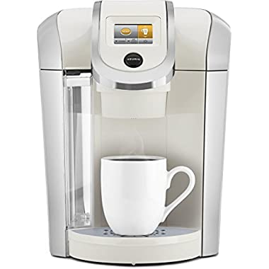Keurig 119301 K475 Coffee Maker, Sandy Pearl