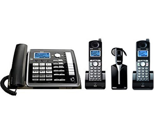 RCA25270RE3 - RCA 25270RE3 DECT Cordless Phone - Black, Silver by RCA