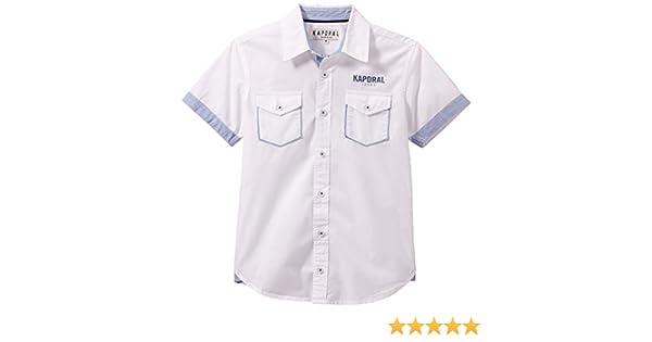KAPORAL Cador Camisa, Blanco, 12 años (152 cm) para Niños: Amazon.es: Ropa y accesorios
