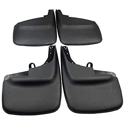 A-Premium Splash Guards Mud Flaps Mudflaps for Ford F-250 F-350 F-450 F-550 Super Duty 1999-2010 without Factory Fender Flares 4-PC Set: Automotive