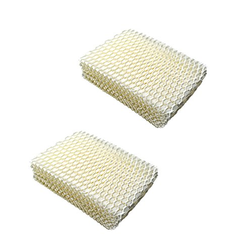 (HQRP 2pack Humidifier Wick Filter for Duracraft HC832, DH-830 / DH830 Series Cool Moisture Humidifier, AC-813 / AC-813 R / WF-813 Replacement + HQRP)