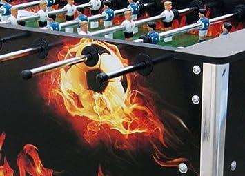vidaXL Futbolín Fireball 80 kg: Amazon.es: Hogar