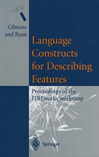 Language Constructs for Describing