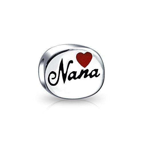 Best Nana Heart Charm - 7