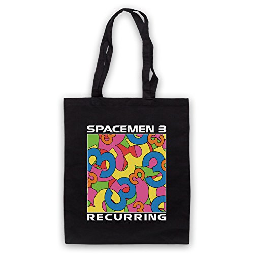 Spacemen 3® Recurring Official Bolso Negro